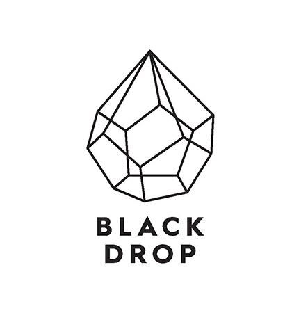 black drop logo